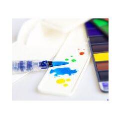 Краски акварельные Superior 18 цветов (палитра Пастель)