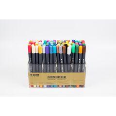 Набор STA  80 цвета акварельные маркеры