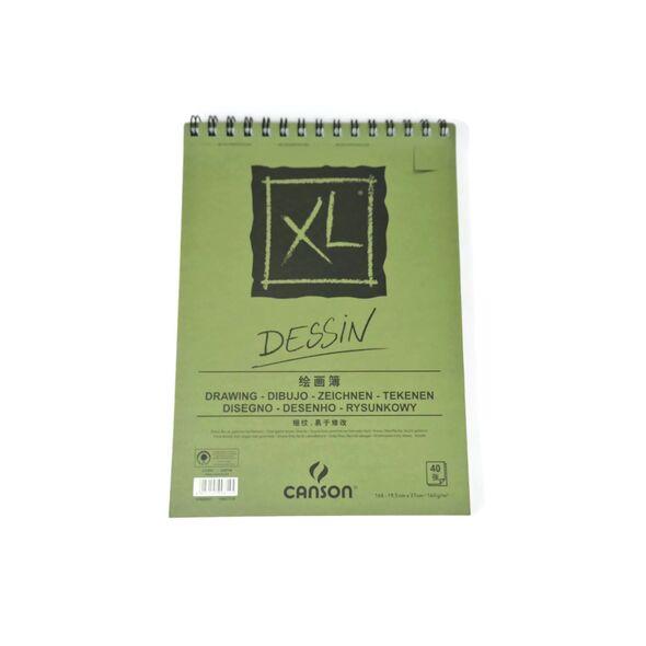 Canson Dessin 16 к 40 листов 19,5*27  160 гр. на пружине