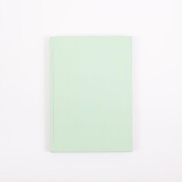 Скетчбук для маркеров А5, 60 листов (Зеленый) Твердая обложка