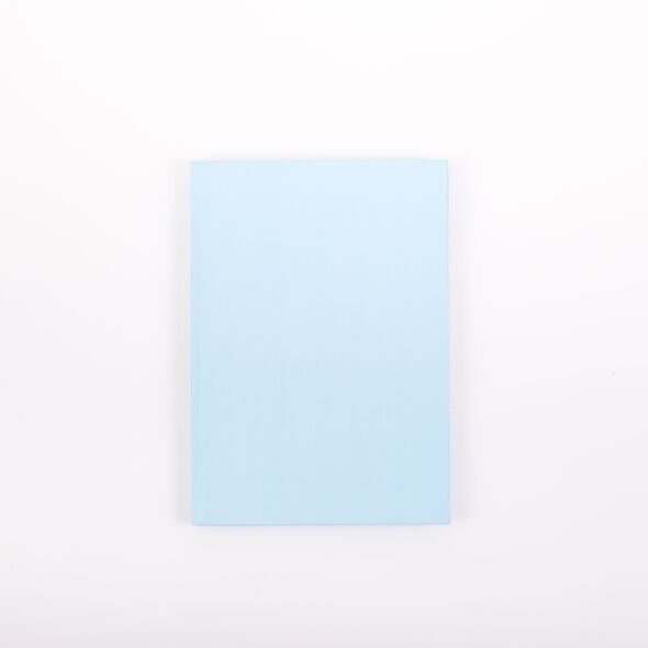 Скетчбук для маркеров А5, 60 листов (Голубой) Твердая обложка