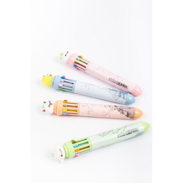Ручка на 10 паст шариковая