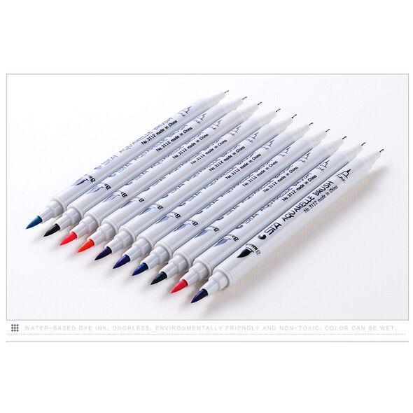 Набор STA  80 цвета акварельные маркеры (№3112)